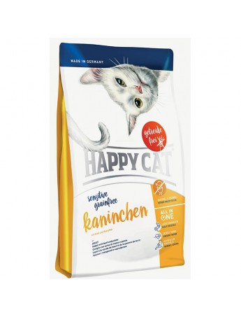 Croquettes chats Happy Cat Lapin sans céréales