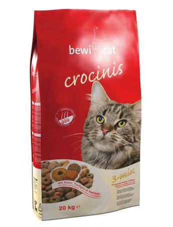 Croquettes chats Bewi Cat Crocinis