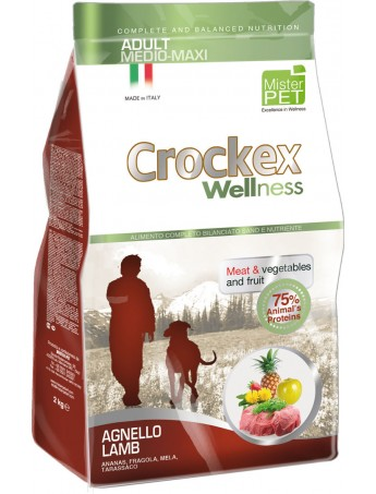 Croquettes Crockex Wellness Agneau