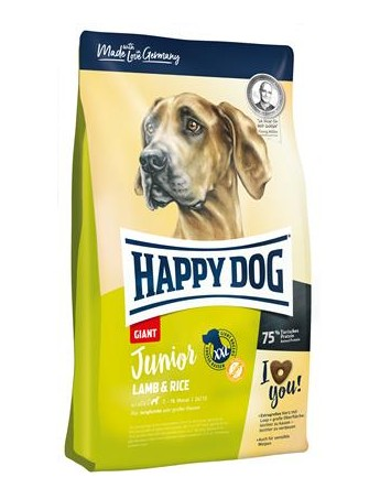 Croquettes Happy Dog Fit Well Giant Junior Agneau Riz