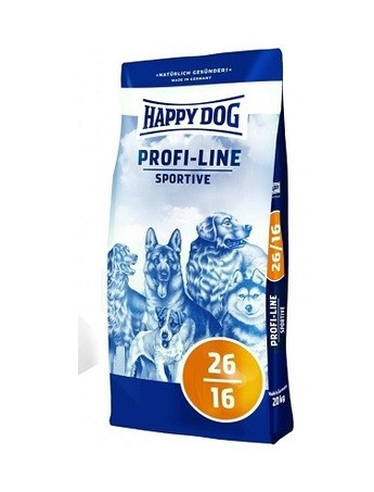 Croquettes chiens Happy Dog Profiline Sportive 26/16