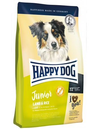 Croquettes Happy Dog Junior Lamb
