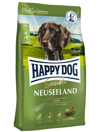 Croquettes chiens Happy Dog Neuseeland