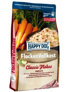Flocons chiens Flocons Flocken Vollkost