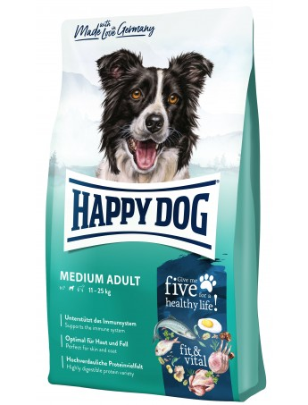 Croquettes chiens Happy Dog Fit+Well Adult Medium